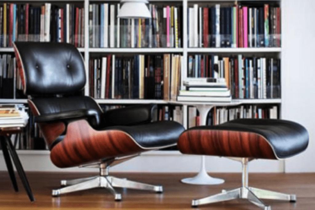 Fotel do czytania w nowoczesnym stylu