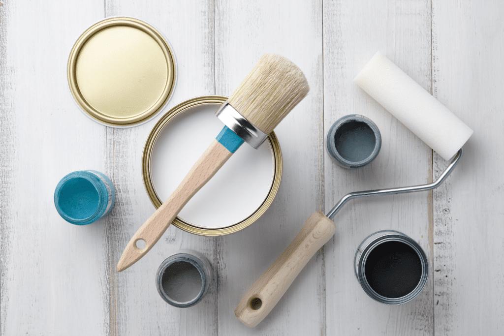 Malowanie mebli farbą kredową