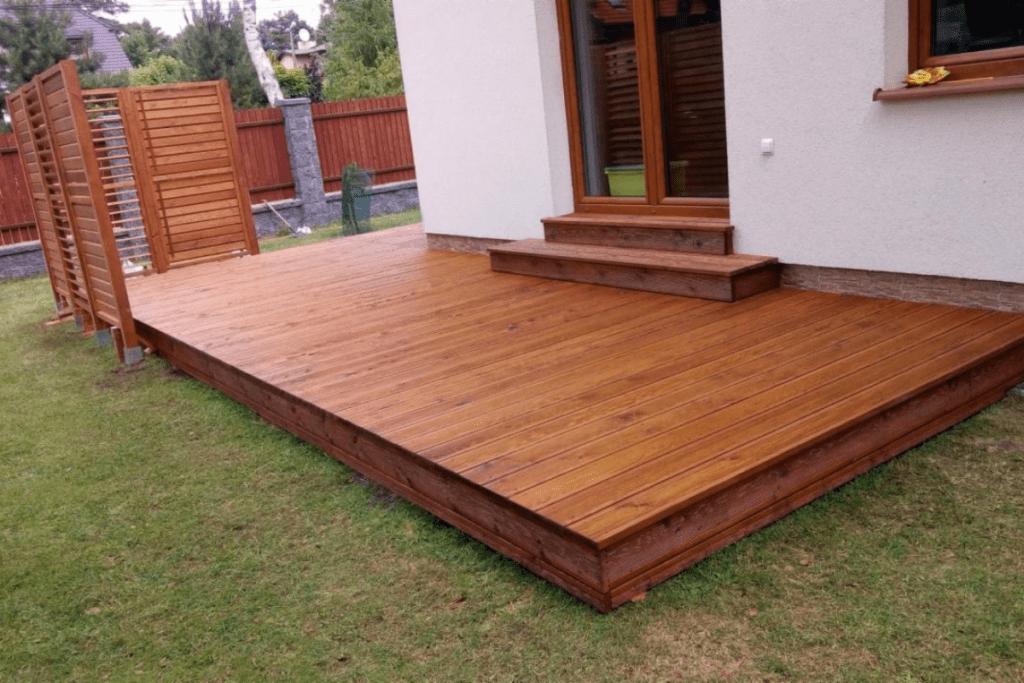 Koszt - Taras drewniany