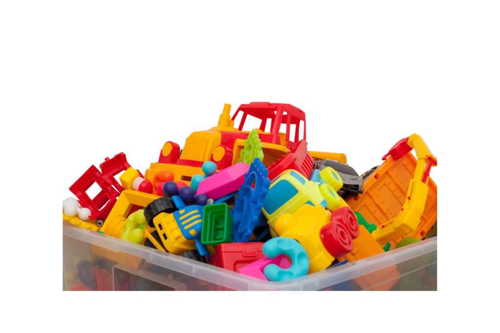 Pojemnik i pudełka na zabawki