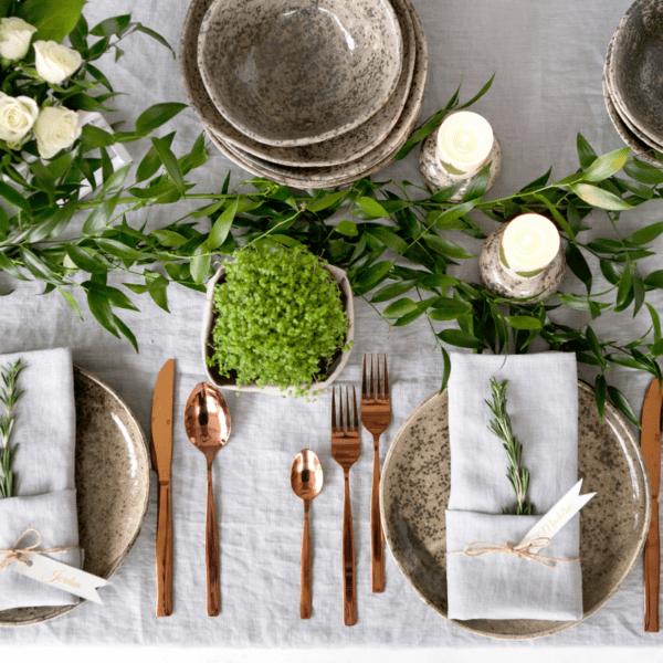 dekoracje przy stole
