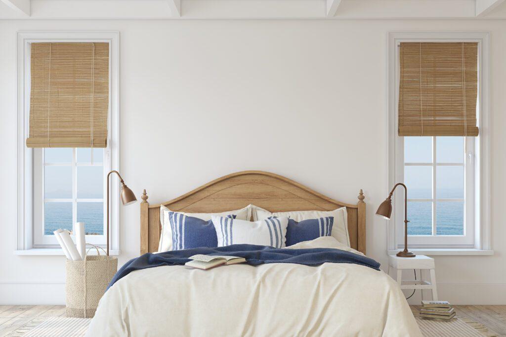 sypialnia styl marynistyczny