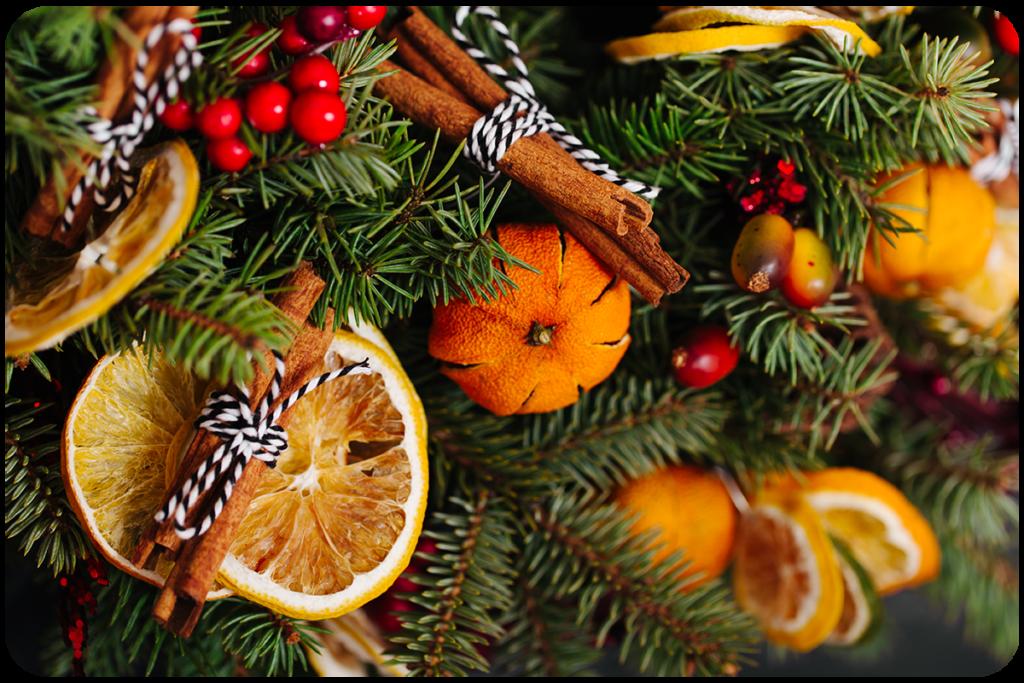 suszone pomarańcze jak ozdabiać