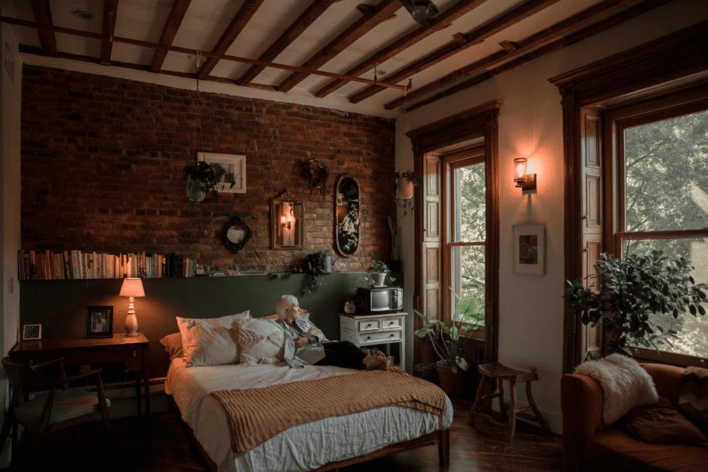 Jak urządzić przytulną sypialnię - oświetlenie