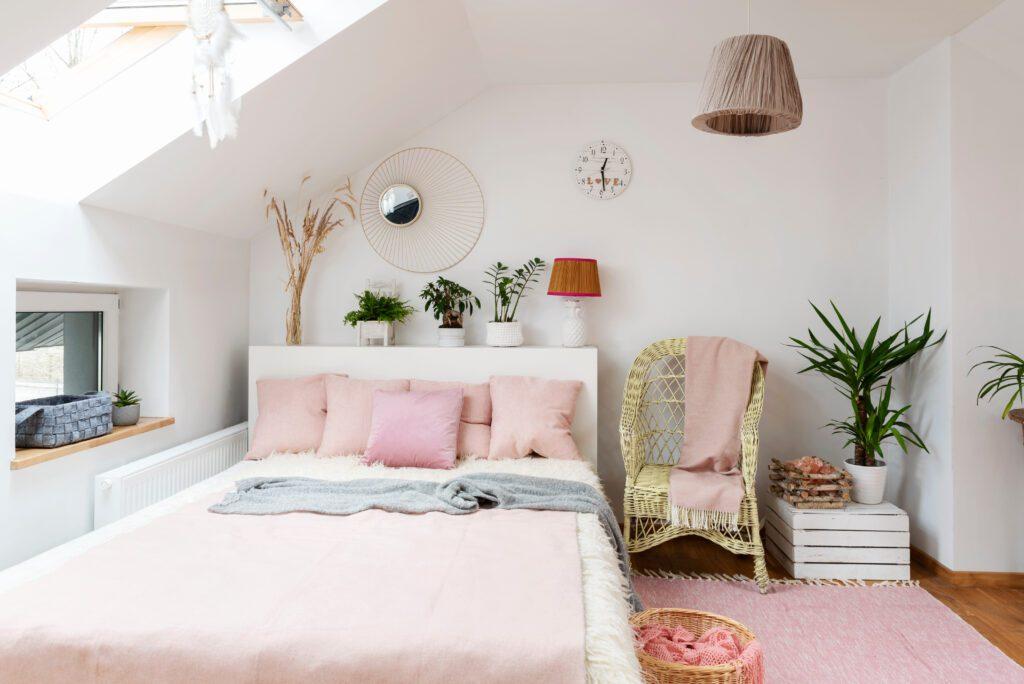 sypialnia skandynawska pomysł