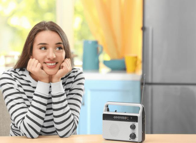 radio w kuchni